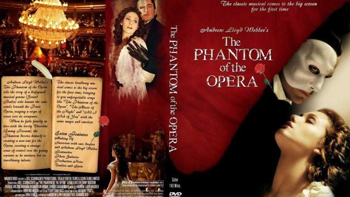 Призрак оперы (2оо4) Триллер, Мелодрама