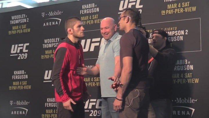 Дуэль Взглядов. Хабиб Нурмагомедов VS Тони Фергюсон. UFC 209