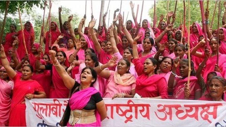 Клан Гулаб (Розовое Войско) / Gulaab Gang (Индия 2014 ᴴᴰ) Драматический боевик