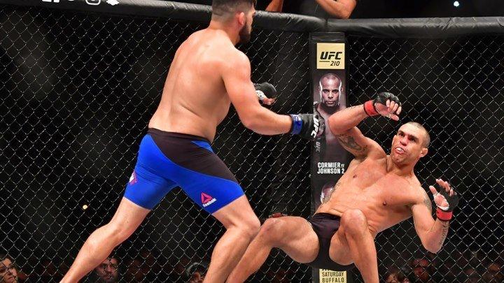 Витор Белфорт - Келвин Гастелум (11.03.2017) UFC Fight Night 106 Vitor Belfort vs. Kelvin Gastelum