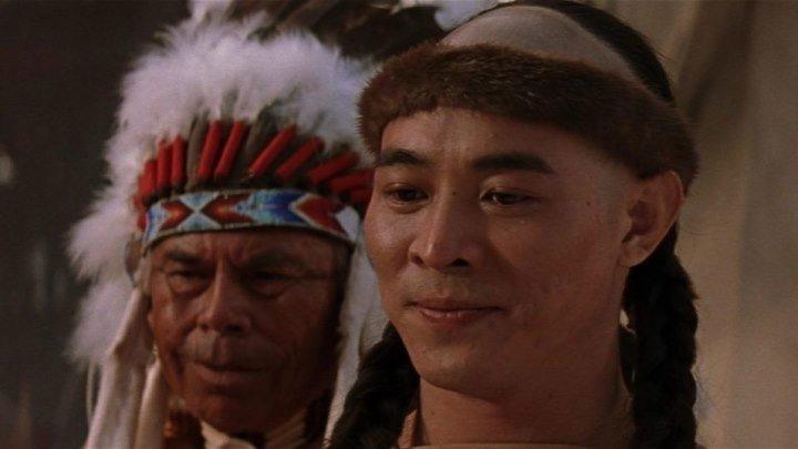Американские приключения / Однажды в Китае и Америке (1997 ᴴᴰ) Боевик, приключения, вестерн
