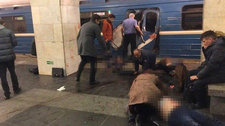 В метро Санкт-Петербурга произошел взрыв