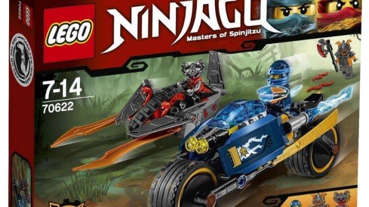 LEGO Ninjago 70622 Пустынная молния Обзор Лего набора 2017 по мультику Ниндзяго Власть Времени