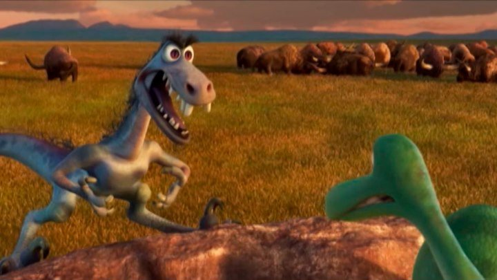 «Хороший динозавр»: всероссийская телепремьера