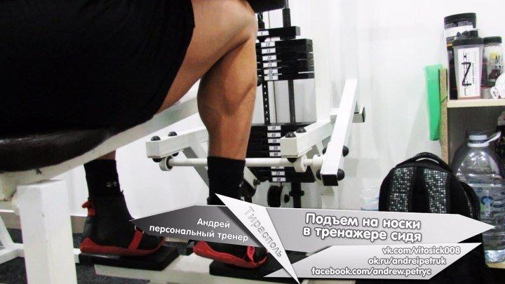 Подъем на носки в тренажере сидя 18.11.16 (тирасполь, фитнес, приднестровье, пмр, спорт, клуб, здоровый образ жизни, персональный тренер, пресс, бодибилдинг, мышцы, рельеф, упражнение, супер, счастье, мотивация, тренировка, голень, икры, икроножные, ноги)