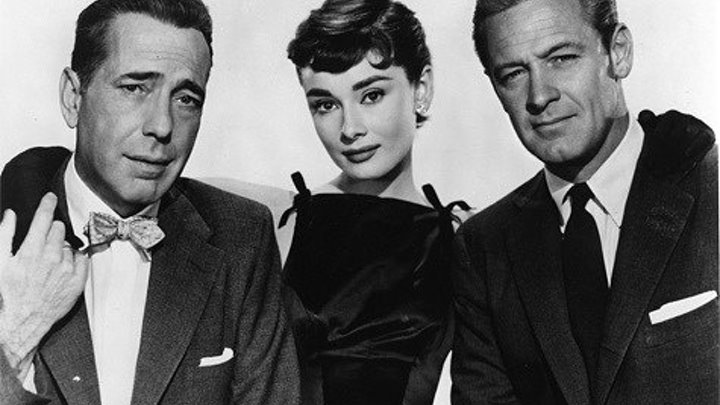 Sabrina 1954 -Audrey Hepburn, Humphrey Bogart, William Holden, Martha Hyer, John Williams