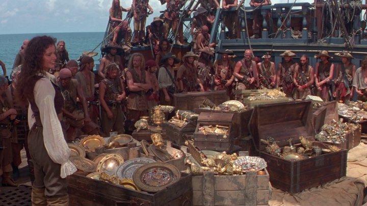 Остров головорезов (1995 ᴴᴰ) Боевик, Приключения, Комедия, Мелодрама, Пираты