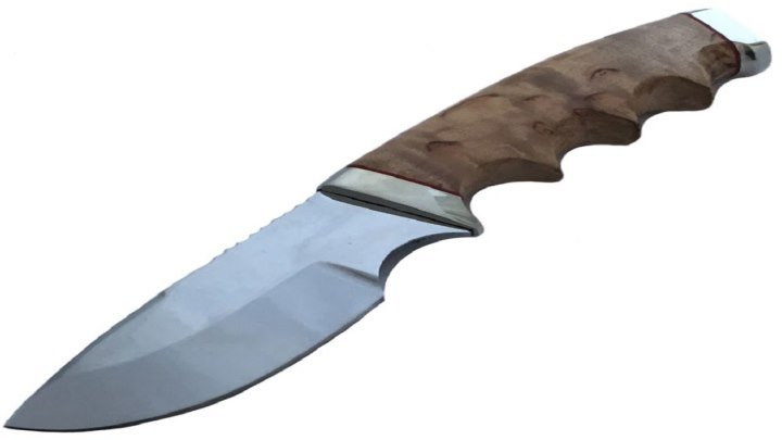 Нож Гефест из стали ХВ6