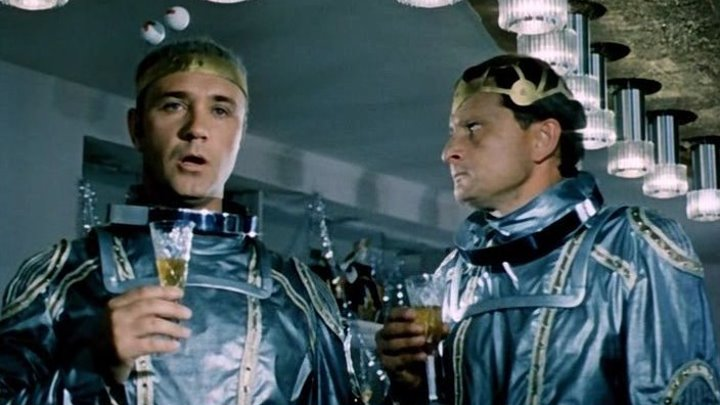 Эта веселая планета (СССР 1973 ᴴᴰ) Комедия, Фантастика, Мюзикл