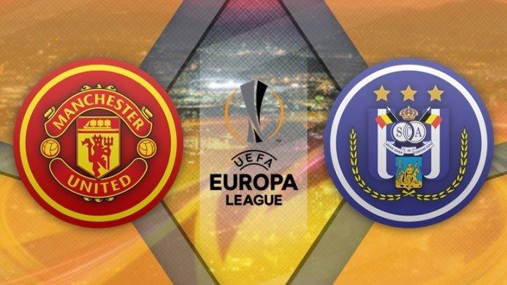 Манчестер Юнайтед 2:1 (доп) Андерлехт   Лига Европы УЕФА 2016/17   1/4 финала   Ответный матч   Обзор матча