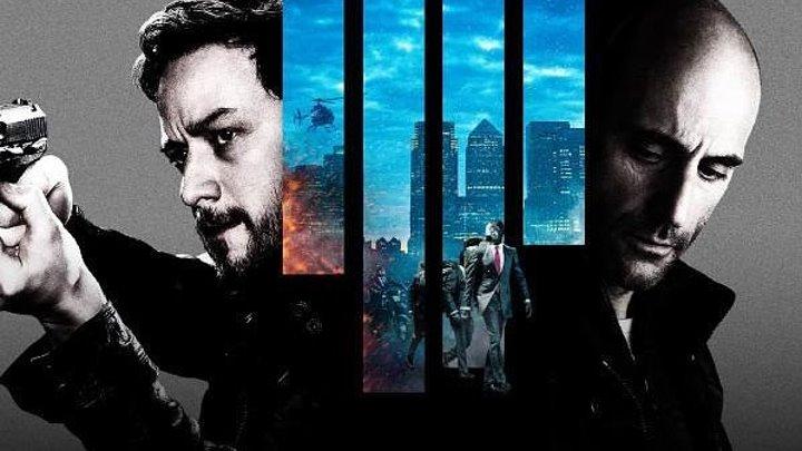 Добро пожаловать в капкан (2013) боевик, триллер, криминал, приключения HDRip Чистый звук Джеймс МакЭвой, Марк Стронг, Андреа Райзборо