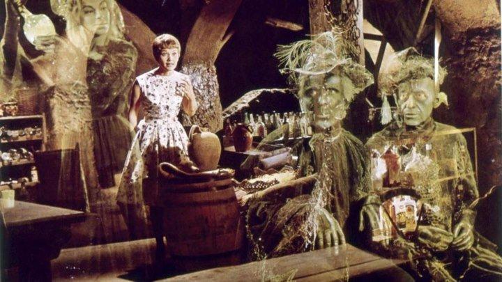 Привидения в замке Шпессарт [1960 г., Комедия, мюзикл, фэнтези, DVDRip] (советский дубляж)