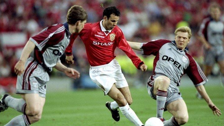 Футбол. МЮ - Бавария (ЛЧ - 1999, Финал)