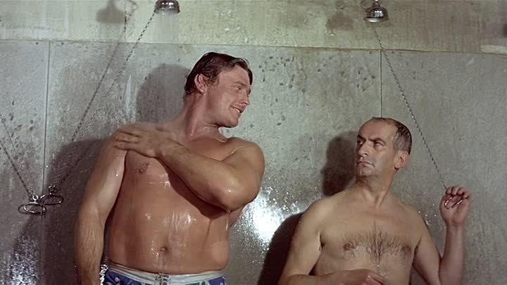 Разиня (Франция, Италия 1965 ᴴᴰ) Комедия, Криминал (советский дубляж)