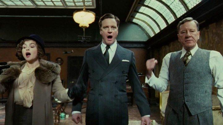 The King's Speech 2010 -Colin Firth, Helena Bonham Carter, Geoffrey Rush