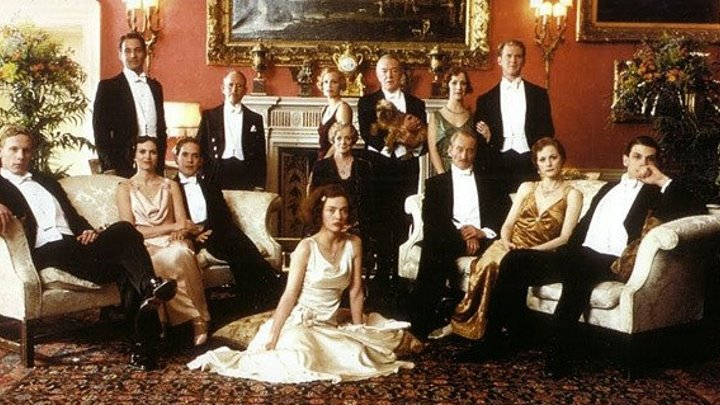 Gosford Park 2001 -Maggie Smith, Kristin Scott Thomas, Helen Mirren, Michael Gambon, Ryan Phillippe, Jeremy Northam