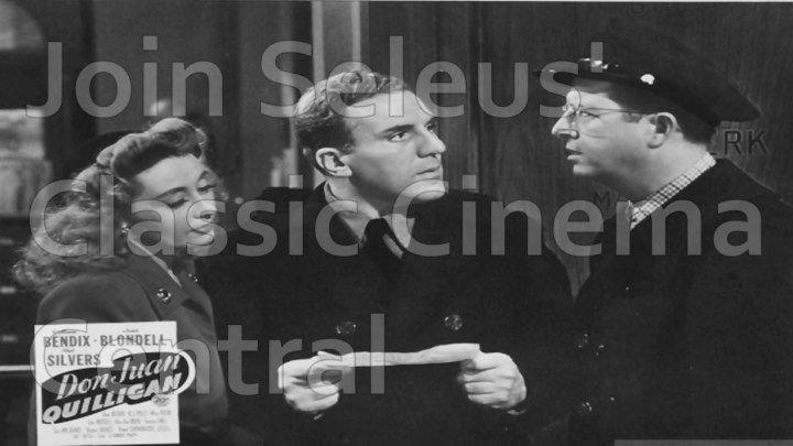 Don Juan Quilligan (1945) William Bendix, Joan Blondell, Phil Silvers