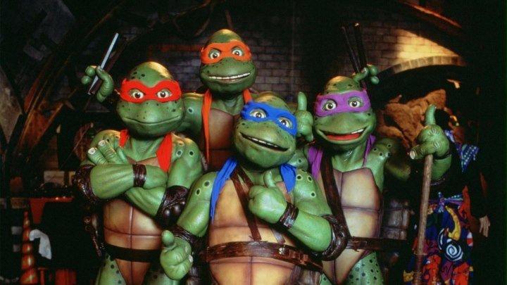 Тинейджеры-мутанты черепашки-ниндзя 3 (семейный комедийно-приключенческий фэнтези с восточными единоборствами) | США-Гонконг, 1993