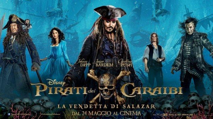 Пираты Карибского моря. Мертвецы не рассказывают сказки (2017) HDRip-1080p . Тизер