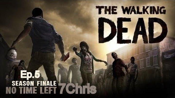The Walking Dead (Ep.5) #21 Конец 5 эпизода. - Прощай, Ли.ФИНАЛ