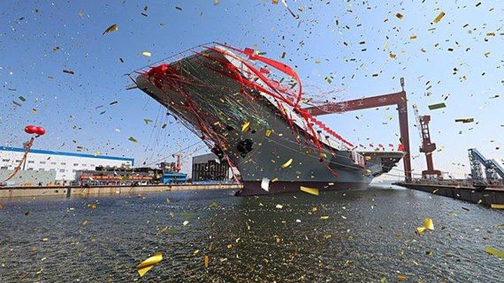 Meduza — Первый китайский авианосец спустили на воду
