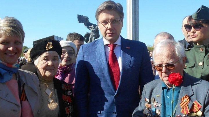 Поздравление мэра Риги Нила Ушакова 9 Мая 2017 года...