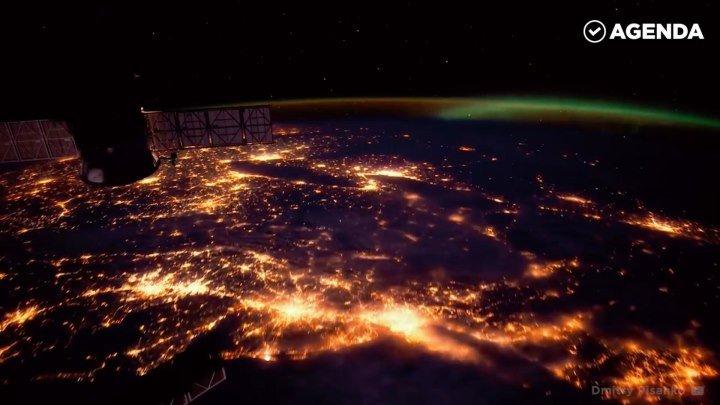 Земля из космоса! Это потрясающе!
