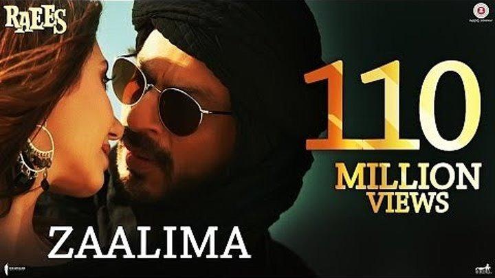 """Муз.фрагмент из к/ф """" Богатей """"- Zaalima - Shah Rukh Khan & Mahira Khan"""