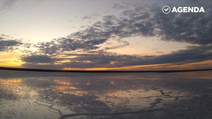 Красота России - озеро Эльтон!