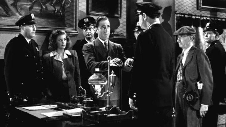 All Through The Night 1941 -Humphrey Bogart, Peter Lorre, Conrad Veidt, Kaaren Verne
