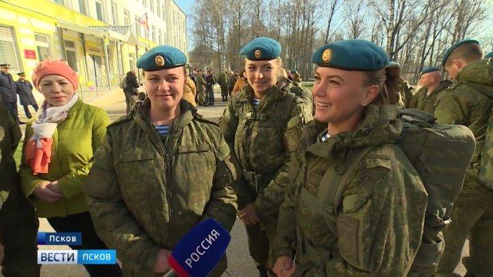 35-й отдельный медицинский отряд Псковской дивизии ВДВ вернулся из Сирии. ГТРК Псков.