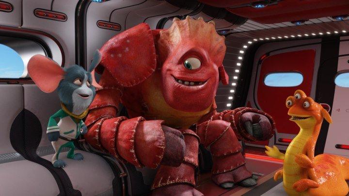 Побег с планеты Земля (2013) мультфильмы приключения семейный фантастика