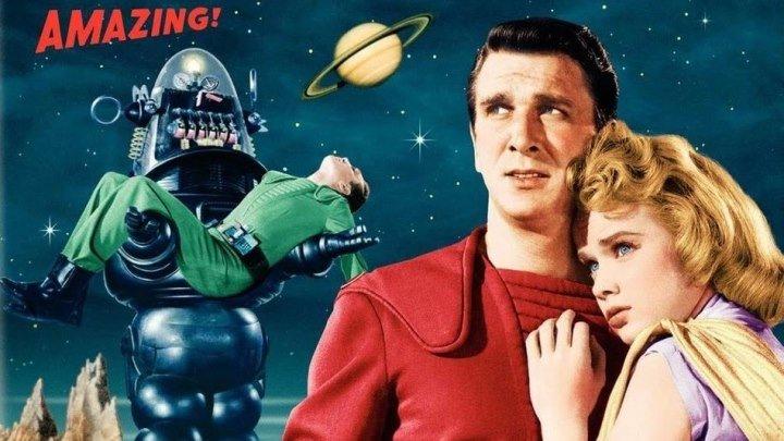 Запретная планета (1956) Фантастика, Триллер HDRip от HQ-ViDEO DVO Лесли Нильсен, Уолтер Пиджон, Энн Френсис, Уоррен Стивенс, Джек Келли, Ричард Андерсон