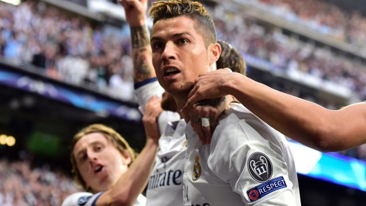 """ГООООООООООООООЛ!!! Это """"Реал""""! Это Криштиану Роналду! """"Реал"""" 1-0 """"Атлетико"""""""