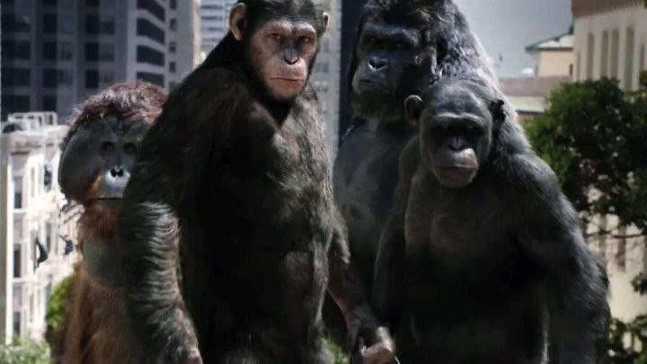 Восстание планеты обезьян HD(Фантастика, Боевик, Приключенческий фильм)2011 (12+