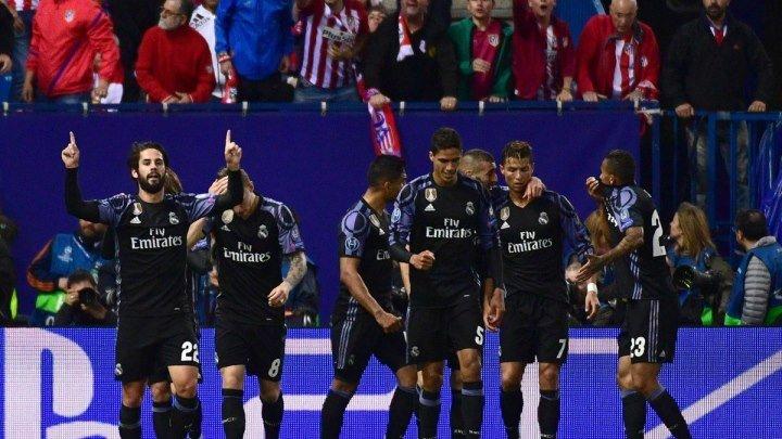 Атлетико Мадрид - Реал Мадрид 2-1 Полуфинал ЛЧ