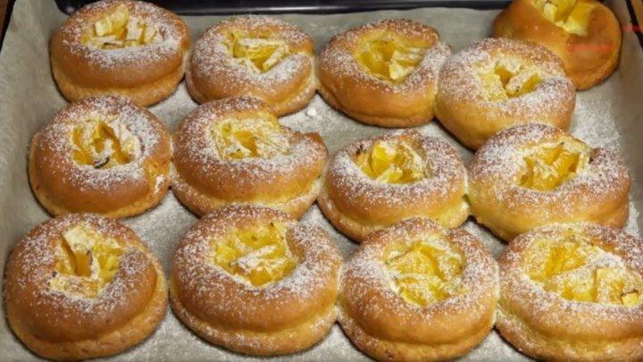 Творожники с апельсинами.Творожное печенье.Очень легкий рецепт!