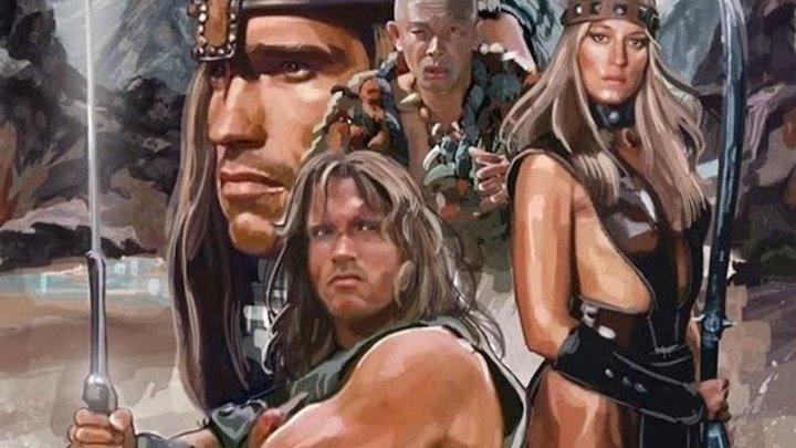 Конан-варвар (1982) фэнтези, боевик, приключения (HD-720p) P2 Арнольд Шварценеггер, Джеймс Эрл Джонс, Макс фон Сюдов, Сэндал Бергман