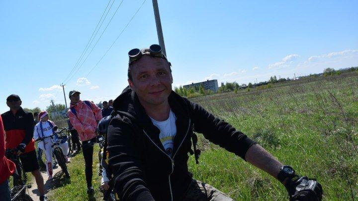 Александр Трофимов - победитель велослёта. Коломенские велосипедисты официально открыли сезон