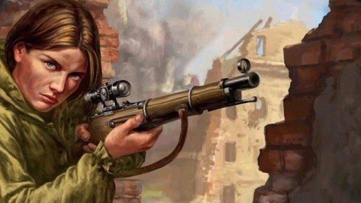 Захватывающая Военная История о снайперах Схватка Русские Шедевры в HD формате