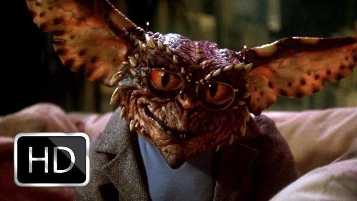Гремлины 2: Новенькая партия / Gremlins 2: The New Batch (1990, Ужасы, фэнтези, комедия)