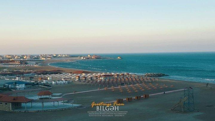В Баку Открываетса Пляжный Сезон, Бильгя Бузавны Нардаран Пиршаги.
