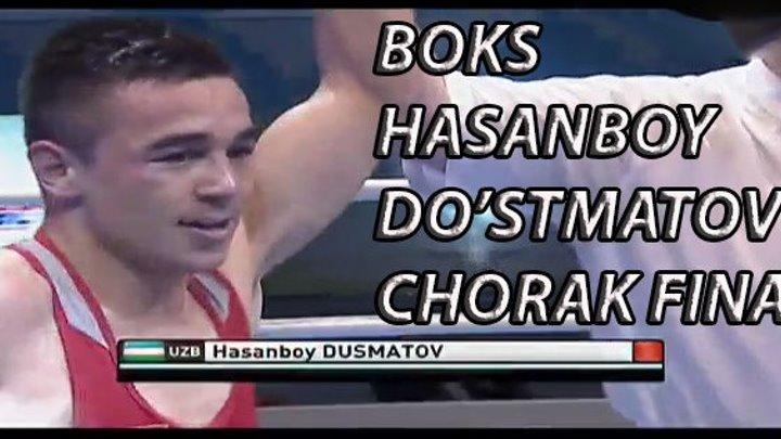 BOKS. OSIYO CHEMPIONATI. HASANBOY DO'STMATOV. CHORAK FINAL