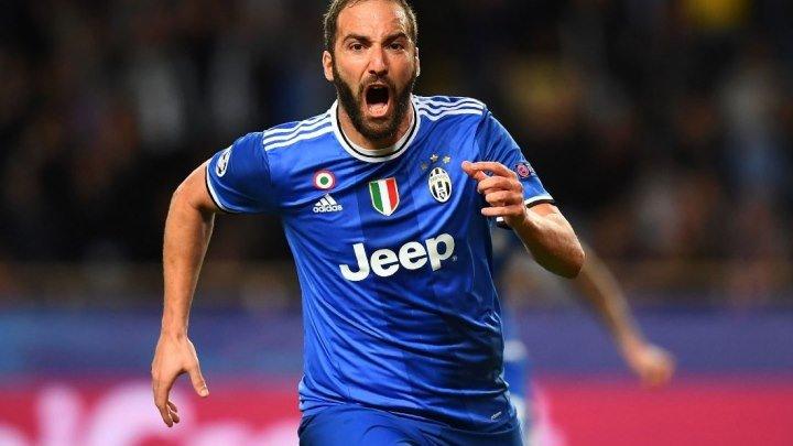 """Гонсало Игуааааааааин!!!!!!!!!! """"Монако"""" 0-1 """"Ювентус"""" Какой же ассист отдал Дани Алвес!"""