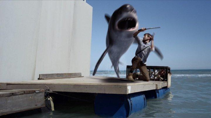 Планета акул. 2016. Ужасы, Фантастика, Боевик, Триллер
