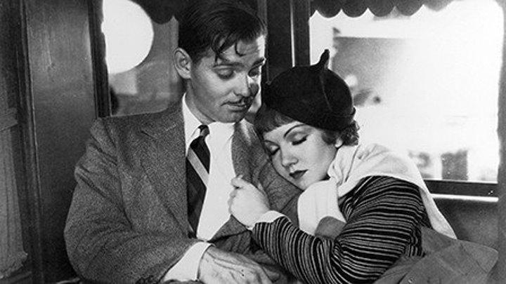 It Happened One Night 1934 -Claudette Colbert, Clark Gable, Walter Connolly, Alan Hale Sr., Jameson Thomas