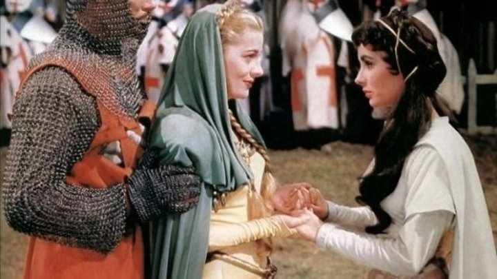 Ivanhoe 1952 -Elizabeth Taylor, Robert Taylor, Joan Fontaine, George Sanders, Robert Douglas, Emlyn Williams, Norman Wooland