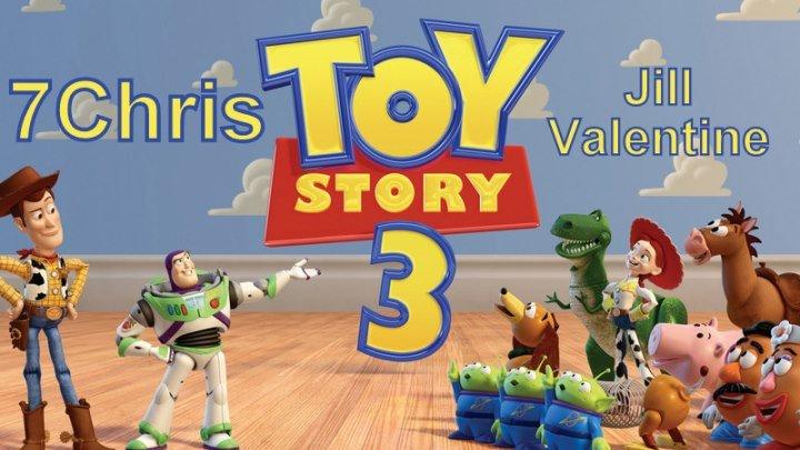 история игрушек 3 Co-op с клер # 1 Веселье на поезде