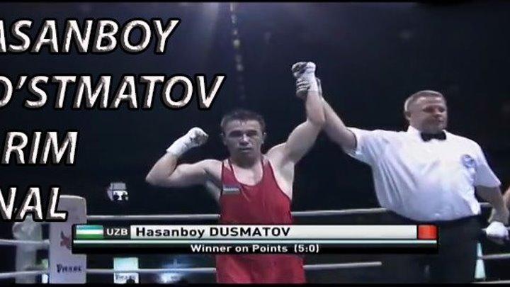 BOKS. OSIYO CHEMPIONATI. YARIM FINAL. HASANBOY DO'STMATOV