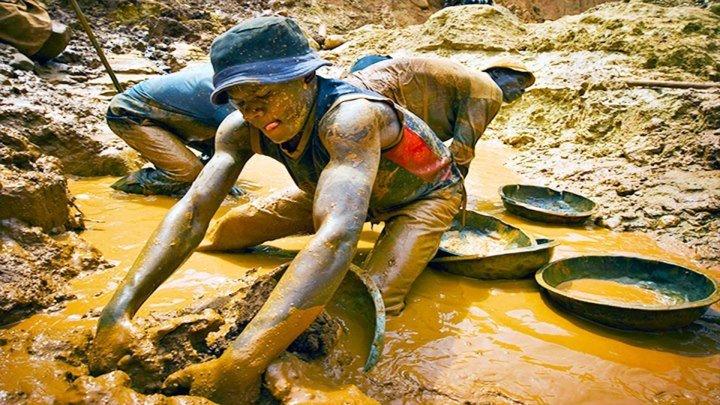 Как Добывают Золото в Африке. Такое не Покажут по ТВ